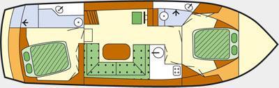 Houseboat Proficiat 1175 Exclusive for rent in Waren-21721-0