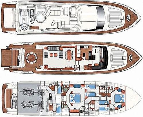 Yacht Ferretti 880 available for charter in Marina Punat-22852-0