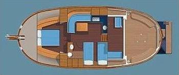 Motoryacht Menorquin 130 in Port de Mahon leihen-29938-0