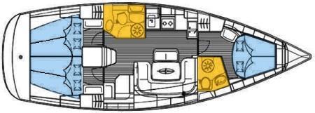 Yacht Bavaria 39 Cruiser in Netsel Marmaris Marina chartern-28288-0