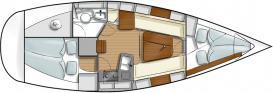 Segelyacht Hanse 315 in Marina Lauterbach chartern-29310-0