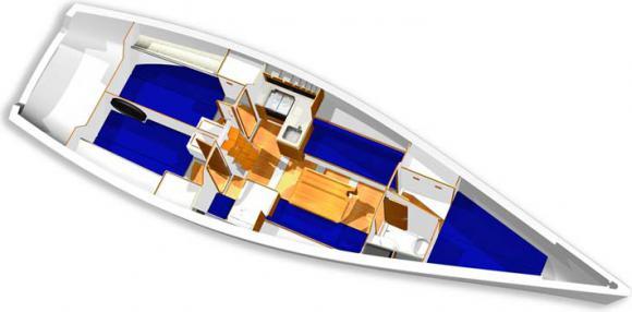 Segelboot X-41 Onedesign in Dubrovnik chartern-33726-0