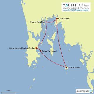 Sailing around Phuket