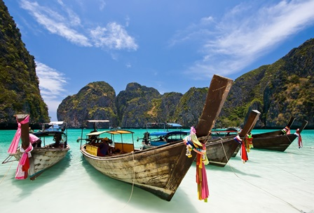Sailing in Thailand