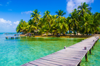 Belize a tiny country in the Caribbean Sea - credit Simon Dannhauer