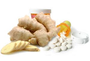 ginger & pills