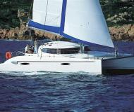Cat Athena 38 for charter in Port Saint Cyprien