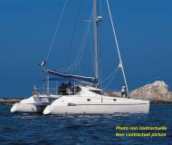 Catamaran Athena 38 for charter in Hyeres Harbour