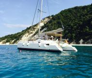 Kat Athena 38 Yachtcharter in Marina Lefkas