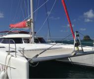 Cat Bahia 46 for hire in Marigot Bay Marina