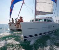 Catamaran Broadblue 385 available for charter in Bodrum Marina Milta