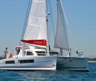 Katamaran Catana 42 Yachtcharter in Ribishi