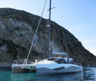 Cat Diamante 555 for charter in Club Nautic