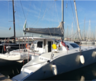 Catamaran Flash Cat 52S for hire in Denia