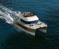 Katamaran Fountaine Pajot MY 37 Yachtcharter in ACI Marina Trogir