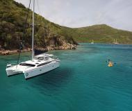 Katamaran Gemini Legacy 35 chartern in Maya Cove