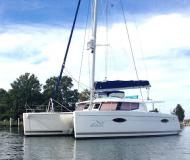 Kat Helia 44 Yachtcharter in Brewer Cove Haven Marina