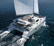 Cat Helia 44 available for charter in Frenchtown Harbour Marina
