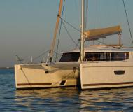 Catamaran Helia 44 available for charter in Marina Red Hook