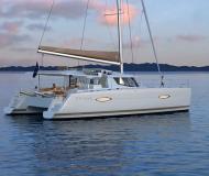Katamaran Helia 44 Yachtcharter in Marina Praslin