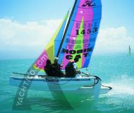 Katamaran Hobie Cat 15 chartern - Yachtcharter in Malcesine