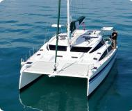 Catamaran Island Spirit 380 for charter in Petcharat Marina