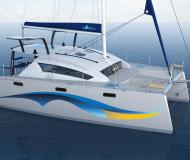 Cat Island Spirit 380 for charter in Petcharat Marina