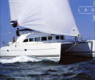 Catamaran Lagoon 380 for charter in Eden Island Marina