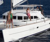 Cat Lagoon 380 available for charter in Fajardo