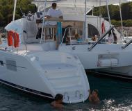 Cat Lagoon 380 for rent in Puerto Del Rey Marina