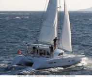 Catamaran Lagoon 380 available for charter in Zaton