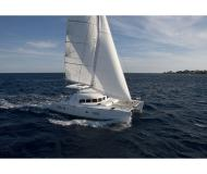 Cat Lagoon 380 for charter in Porto Montenegro