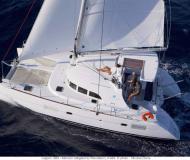 Catamaran Lagoon 380 for hire in Lavrio