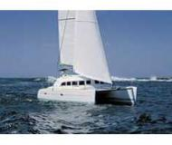 Cat Lagoon 380 S2 for hire in Baie Sainte Anne