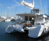 Cat Lagoon 39 available for charter in Marina di Nettuno