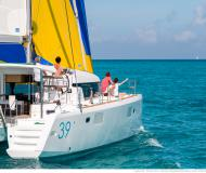 Cat Lagoon 39 for charter in Marine Betina