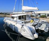Cat Lagoon 39 available for charter in Marina Dalmacija