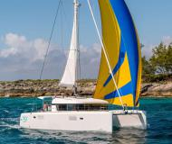Catamaran Lagoon 39 available for charter in Island of Flowers Marina