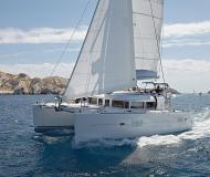 Cat Lagoon 400 for rent in French Cul de Sac