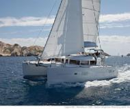 Cat Lagoon 400 for rent in Marina de Denia