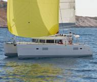Catamaran Lagoon 400 available for charter in Marina Mandalina