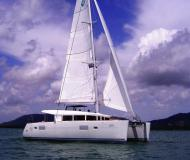 Catamaran Lagoon 400 for hire in Yacht Haven Marina Phuket