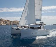 Cat Lagoon 400 for charter in Marina Rogac
