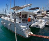 Cat Lagoon 400 S2 available for charter in Split