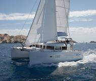 Cat Lagoon 400 S2 for rent in Finikas Marina