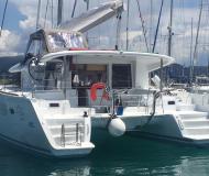 Katamaran Lagoon 400 S2 Yachtcharter in Marina Lefkas