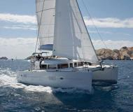 Cat Lagoon 400 for rent in Gouvia