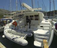 Cat Lagoon 400 S2 for charter in ACI Dubrovnik Marina
