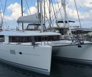 Catamaran Lagoon 400 S2 available for charter in Tropea