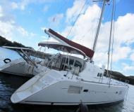 Catamaran Lagoon 410 available for charter in Grand Anse